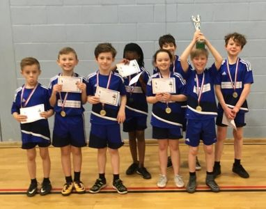 Year 3/4  Ritchie Cup for Dodgeball