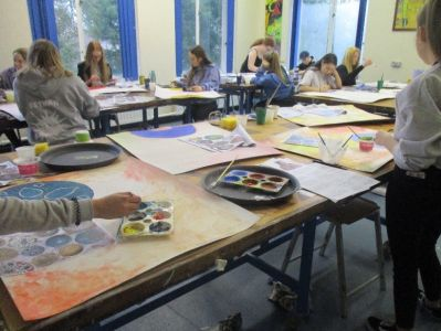 'East meets West' GCSE Art Visit to Conway Centre