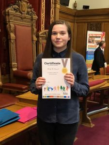 Our Very Own Deputy Youth MP for Bolton – Molly McDermott