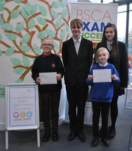 Open Evening Prize Winners Return to BSCA