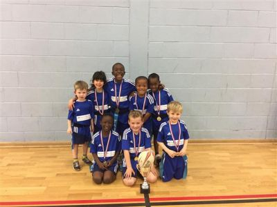 Year 2 Ford Cup Tag Rugby Cup