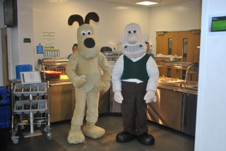 Pasta King brings Wallace and Gromit to BSCA