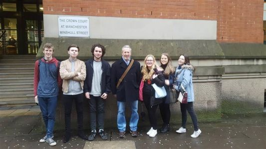 Manchester Law Courts Visit