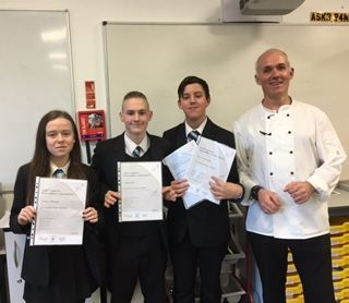 Students Food Hygiene Awards Success